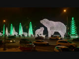 Белые медведи на Проспекте Мира впечатляют!