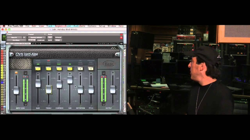 Live Event with Chris Lord-Alge - Part 6: CLA Bass Plugin