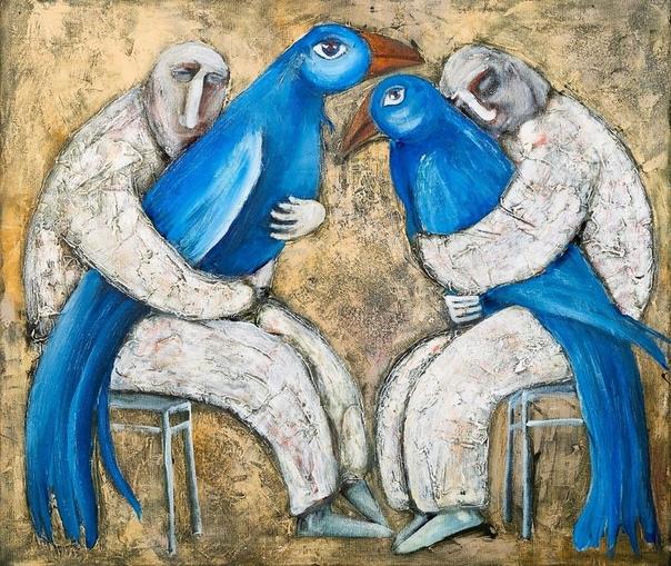 знаю непременно выберут меня птицы мать их щастья завтрашнего дня © seal