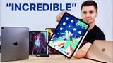 2018 iPad Pro Unboxing! 11 &amp 12.9-inch, MacBook Air &amp Apple Pencil 2!