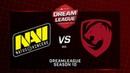 Na`Vi vs Tigers, DreamLeague Minor, bo5, game 5 [Godhunt Casper]