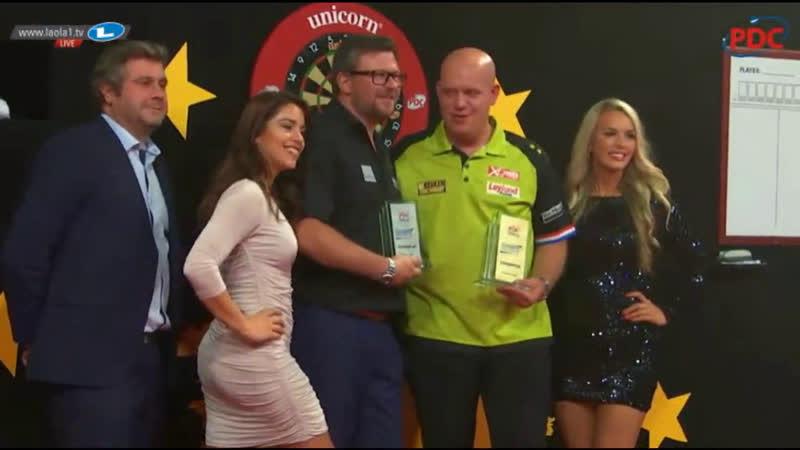2018 European Darts Trophy Final van Gerwen vs Wade