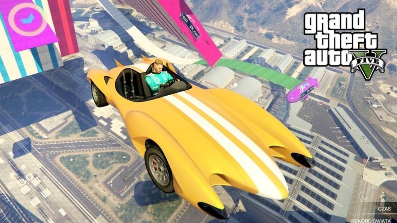 NAJTRUDNIEJSZA MAPA NA SCRAMJET! w GTA 5 Online Hogaty i EKIPA KOZAK AUTO! 313