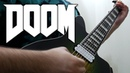 DOOM 2016 Guitar Riff Compilation 8 String Guitar - Mick Gordon Cover