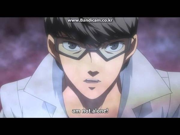 Persona 4 Animation Episode 26 Izanami Okami Battle Scene
