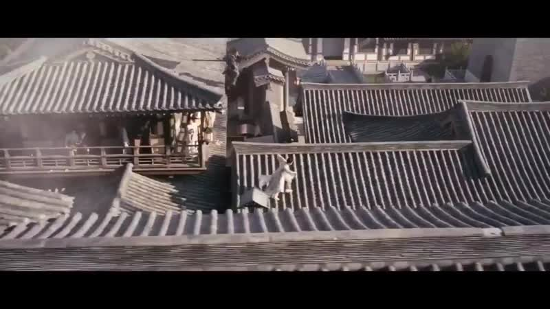 Использование спецэффектов в дораме «Девять Царств: Знамя Орла»   2019
