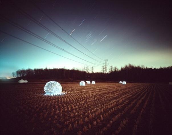 Сказочная инсталляция «Звездные ночи» от фотографа Ли Юниеола