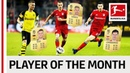 Reus Lewandowski Kimmich Co Vote Your Player Of The Month December