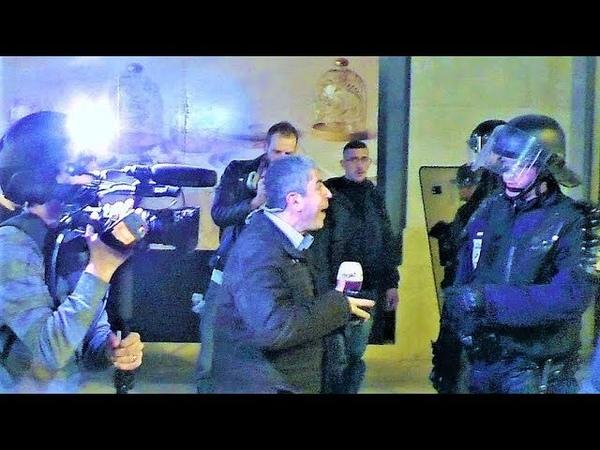Un journaliste dAl-Arabiya et son cameraman brutalisés par des crs -Gilets jaunes Acte 14 -16.02.19