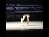 12 Forgotten Land, Jacobo Tissi, Xenia Zhiganshina, BolshoiTheatre , Choreography by Jiri Kylian, Music- Benjamin Britte