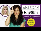 American Rhythm And Intonation Reese Witherspoon In-Depth Speech Analysis