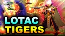 TIGERS vs LOTAC WHAT A CRAZY GAME SEA KING'S CUP 2 DOTA 2