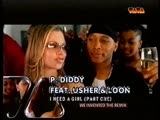 P. Diddy Feat Usher &amp Loon - I Need A Girl (Part One) VIVA TV