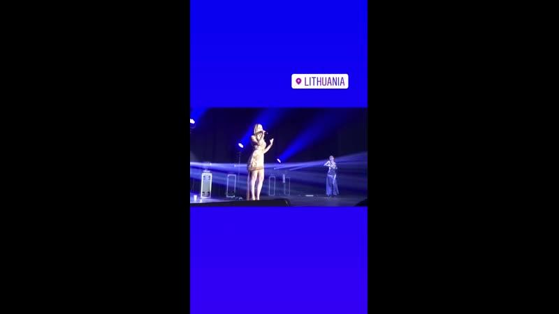 Ксения Новикова - Где же ты, где? (Супердискотека-2, 15.03.2019, концертный зал Compensa, г. Вильнюс, Литва)