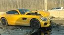 Краш тест Mercedes AMG GT vs Daewoo Nexia