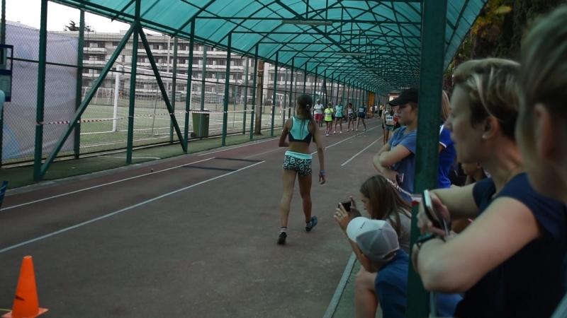 1 попытка в прыжках в длину у девушек 2005 2006 г р команды Победа
