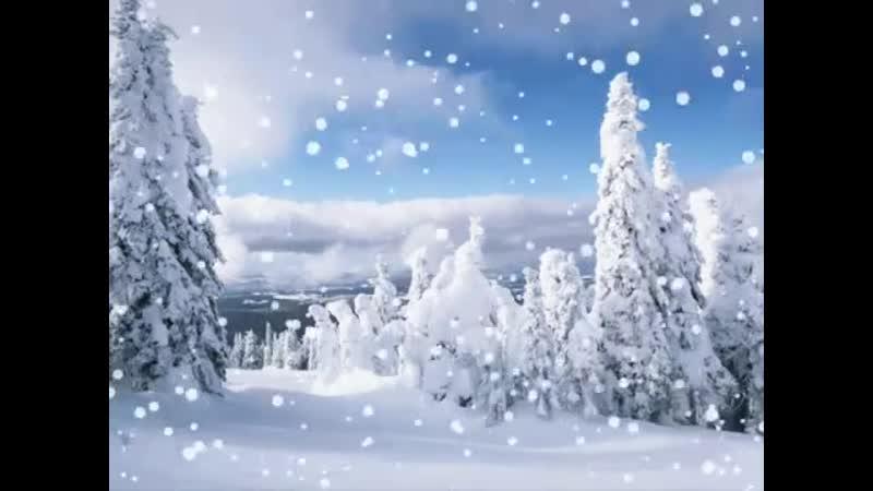 1.14 минут. Белые снежинки (Из кинофильма «Джентльмены удачи»)