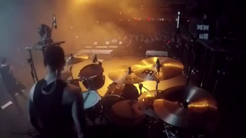 We Came As Romans - Lost In The Moment (feat. Matty Mullins of Memphis May Fire) [drum cam] (live @ Fillmore, Detroit)