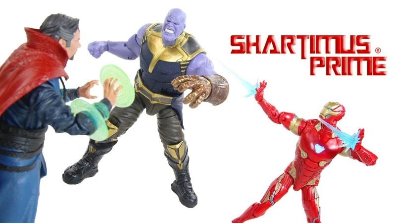 Marvel Legends Thanos Dr Strange Iron Man Avengers Infinity War Marvel Studio First 10 Years Review