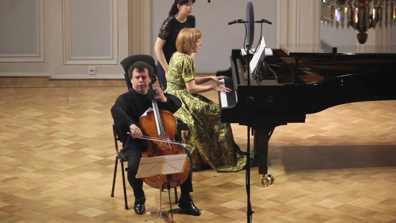 S.Rachmaninow - Sonate pour Piano et Violoncelle, Op.19. Part 1. Lento.