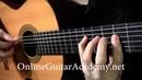The Four Seasons Winter 1st mvt solo classical guitar arrangement by Emre Sabuncuoglu