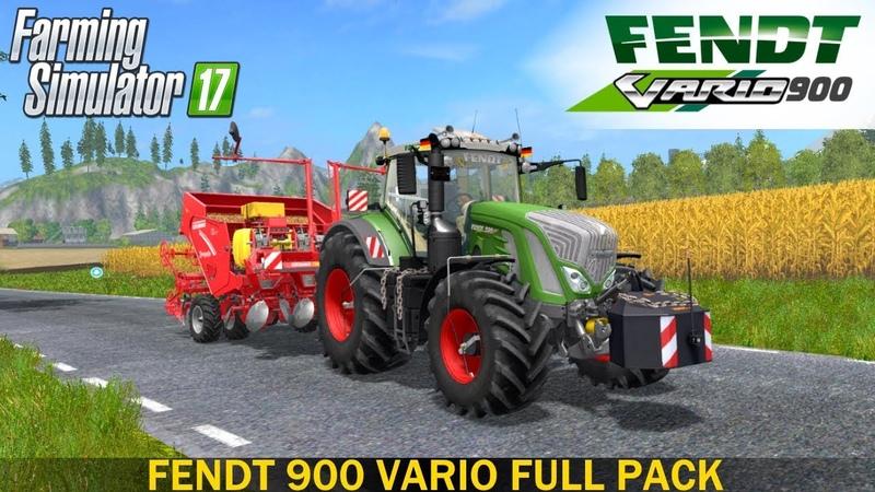 Farming Simulator 17 FENDT 900 VARIO FULL PACK DH TRACTOR