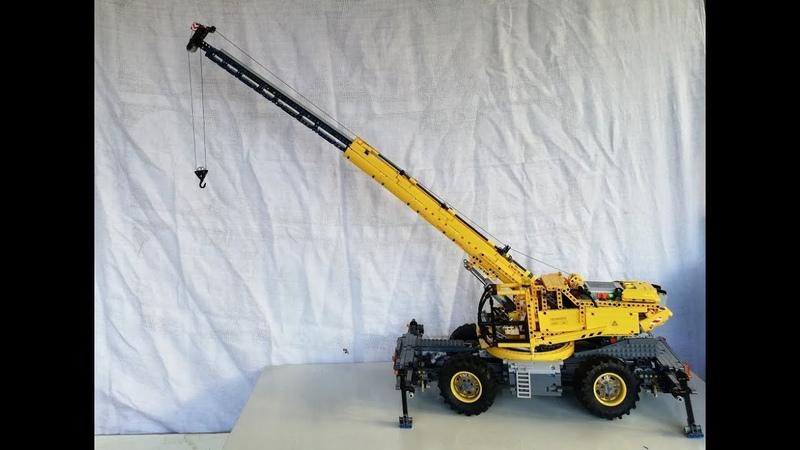 Lego Technic Rough Terrain Crane a 42082 set vision