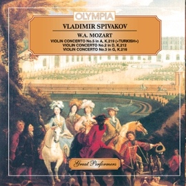 Wolfgang Amadeus Mozart альбом Mozart: Violin Concerto No. 2, 3 & 5