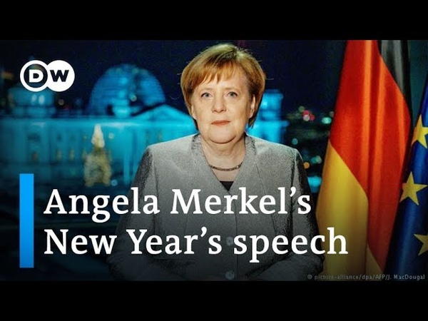 Merkel calls for unity and tolerance in New Year's speech   DW News
