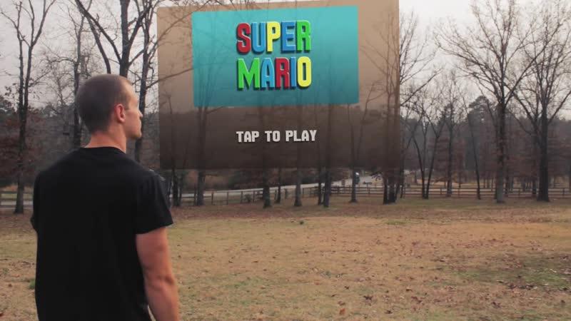 Super mario updated в реальности