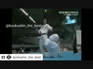 Нокауты в Кёкусинкай карате https://vk.com/oyama_mas