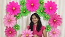 Very Easy Paper Flower Decoration at home Decoration ideas for any occasion at home