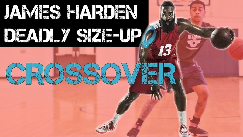 James Harden Between the legs crossover size up - Deadly Move