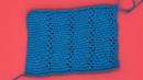 Узор тунисским крючком Вязание узора Вязание тунисским крючком