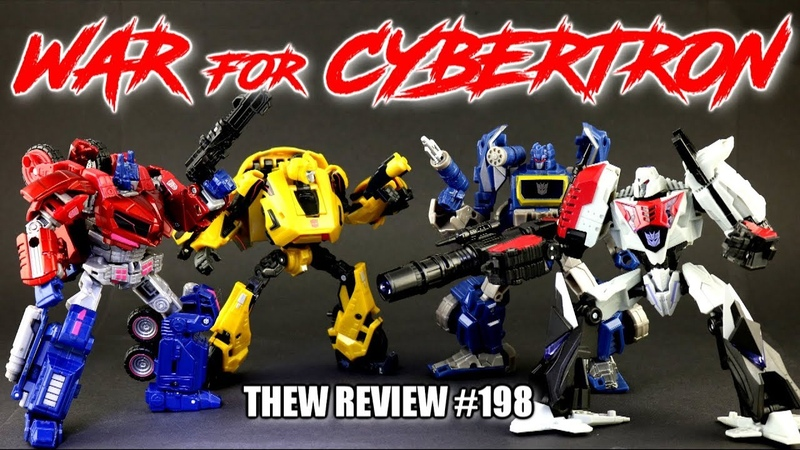 WFC Party! Optimus Prime, Bumblebee, Megatron, Soundwave: Thew's Awesome Transformers Reviews 198