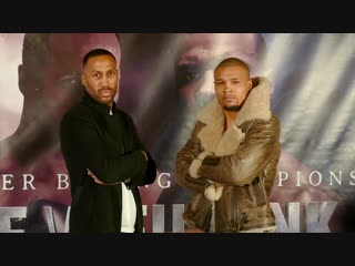 James DeGale vs. Chris Eubank Jr FACE TO FACE in London