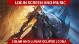 Eclipse Leona - Login Screen and Music - League of Legends