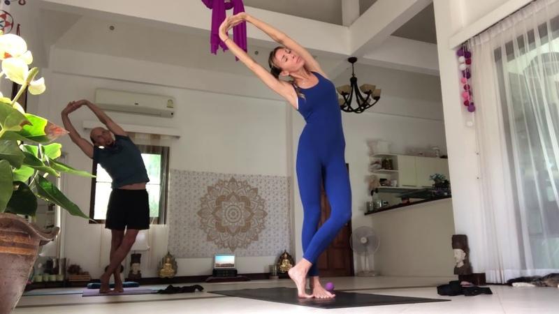 Хатха йога Глубокая растяжка
