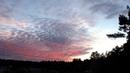 Неповторимый time lapse закат солнца / Смена сцен в вечернем небе мая