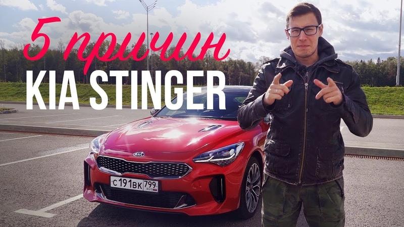 5 ПРИЧИН В ПОЛЬЗУ КИА СТИНГЕР Тест драйв и обзор Kia Stinger 2 0