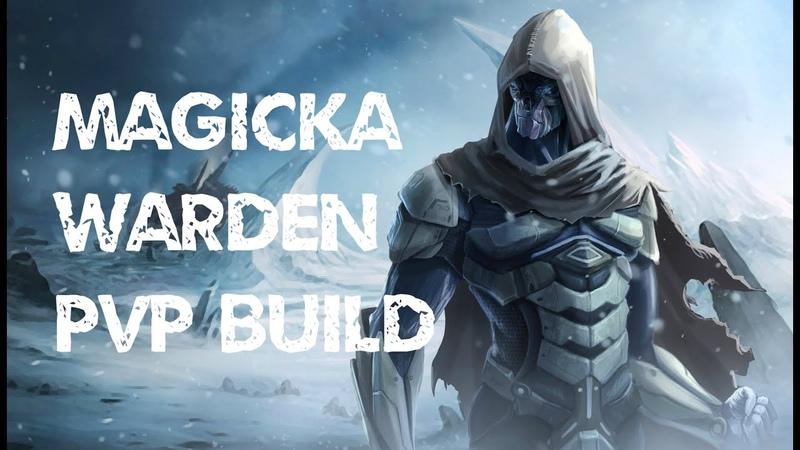 Magicka Warden PVP Build - AVALANCHE - ESO Wolfhunter