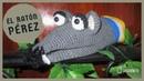 El ratón Pérez títere con técnica amigurumi Tejido a crochet