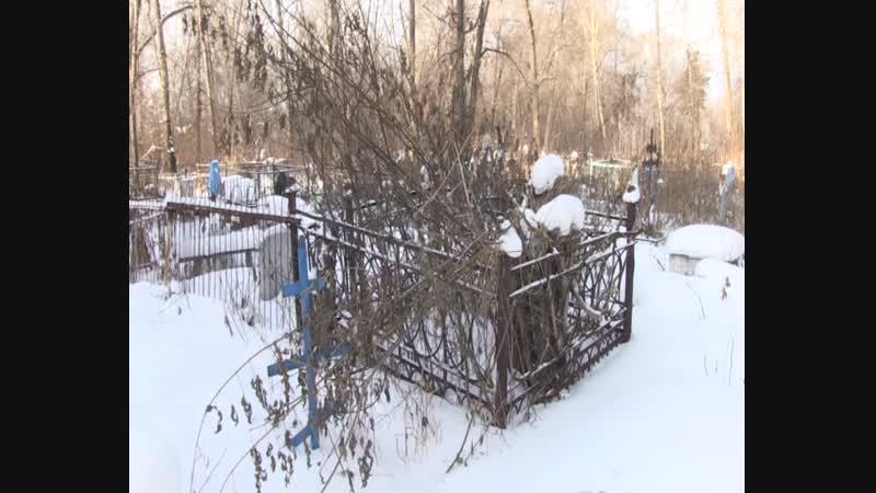 Погост в южной части Миасса зарастает деревьями