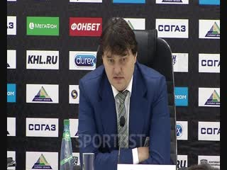 Николай Цулыгин, главный тренер ХК