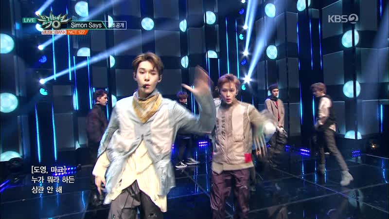 [Comeback Stage] 181123 NCT 127 (엔시티 127) - Simon Says