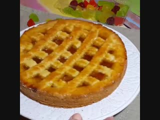 Быстрый пирог с вареньем на скорую руку, моя палочка выручалочка!