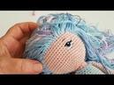 Amigurumi himzett szem 2. / How to amigurumi doll embroide eyes 2