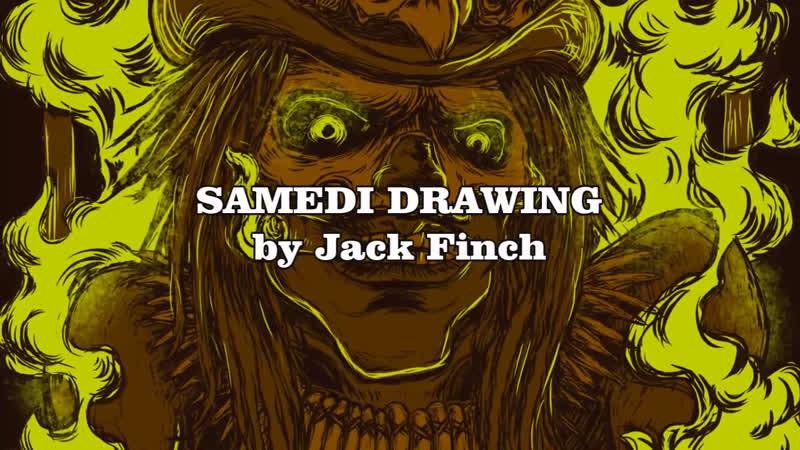 Samedi -- Krita timelapse by Jack Finch