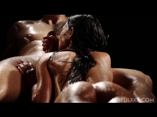 Oil Massage (sensual blowjob handjob cum penis sperm orgasm массаж члена эротический)