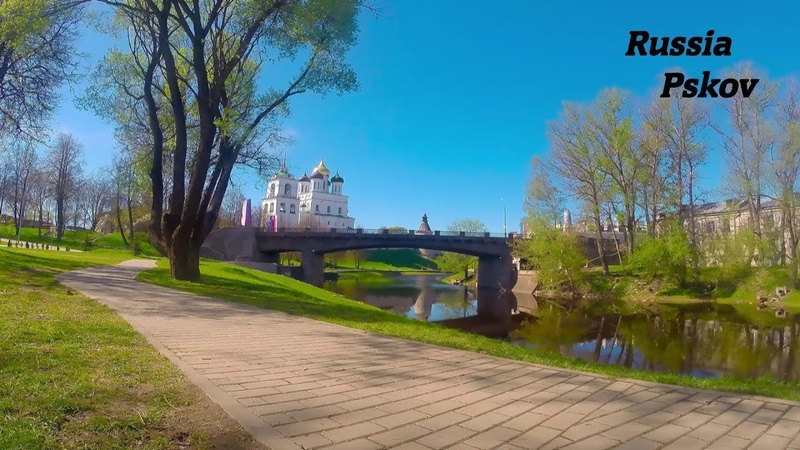 Таймлапс Россия Псков / Timelapse Russia Pskov